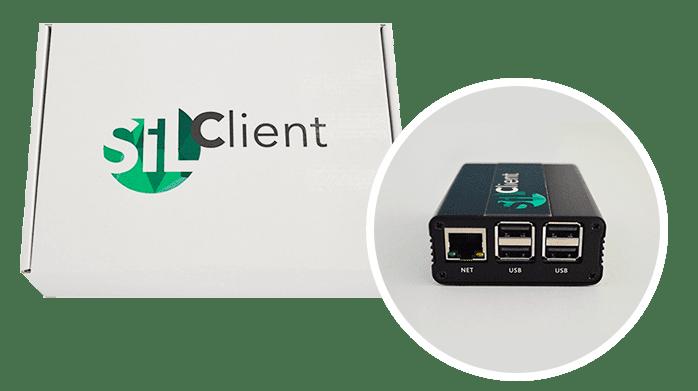 SILClient terminal
