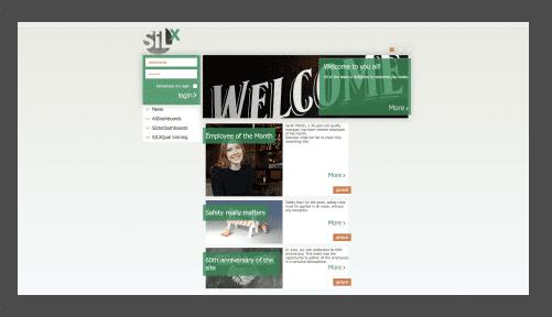 SILX CMS screen
